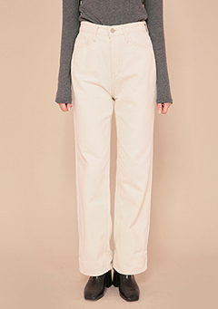 Stitch Straight Line Pants