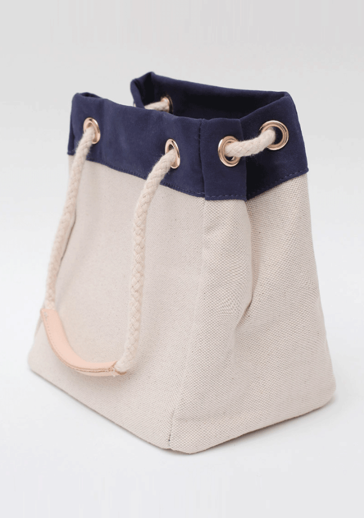 Cotton Cream Canvas Bag