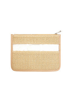Transparent Detail Clutch