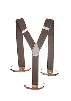 Soft Leather Suspender