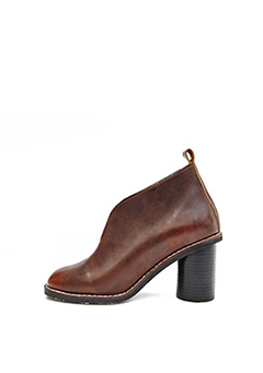 Former Unique Leather Ankle Boots