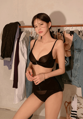 Double Hook Bra+Pantie Set