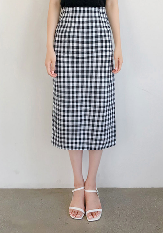 Lovely Picnic Gingham Check Skirt