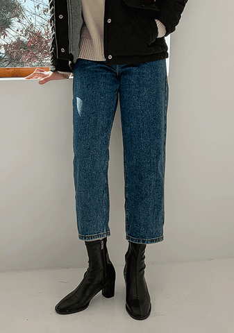 Wide Fit Boyfriend Jeans