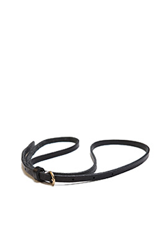 Slim Basic Thin Leather Belt