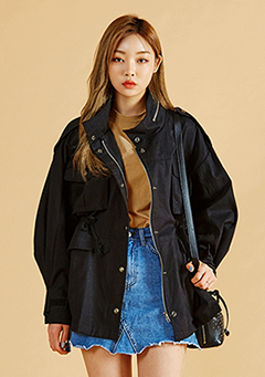 Volume Washing Field Jacket