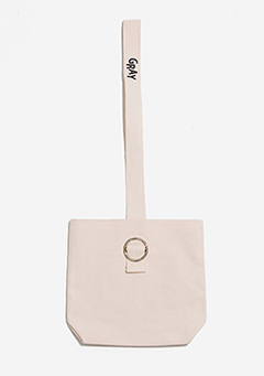 Canvas Silver Ring Bag