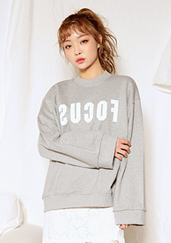 FOCUS Printed Sweatshirt