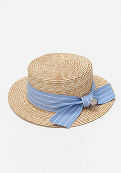 Smile Point Straw Hat