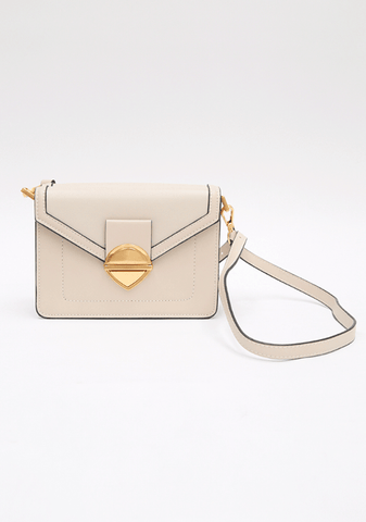 Sideways Charming Gold Bag