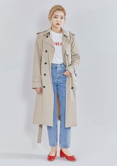 Way Classic Trench Coat
