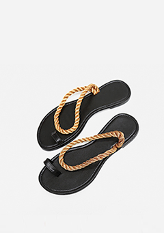 Rope Strap Slippers