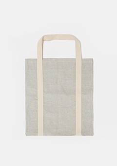 Two-Toned Daily Linen Bag