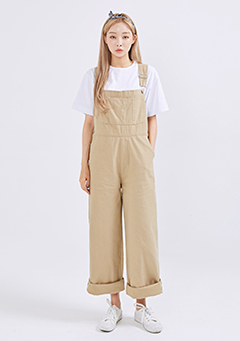 Basic Cotton Overalls