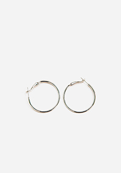 Daily Silver Ring Earrings