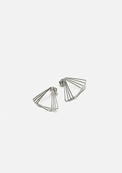 Layered Triangle Earrings