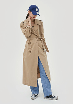 Standard Long Trench Coat