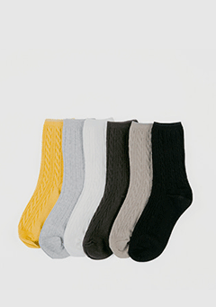 Twist Basic Socks