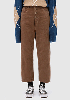 Button Work Pants