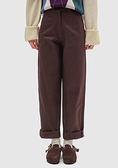 Cotton Basic Pants