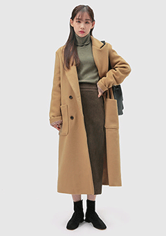 Wool Basic Double Coat