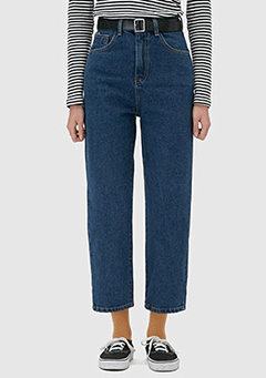 Deep Straight Denim Pants