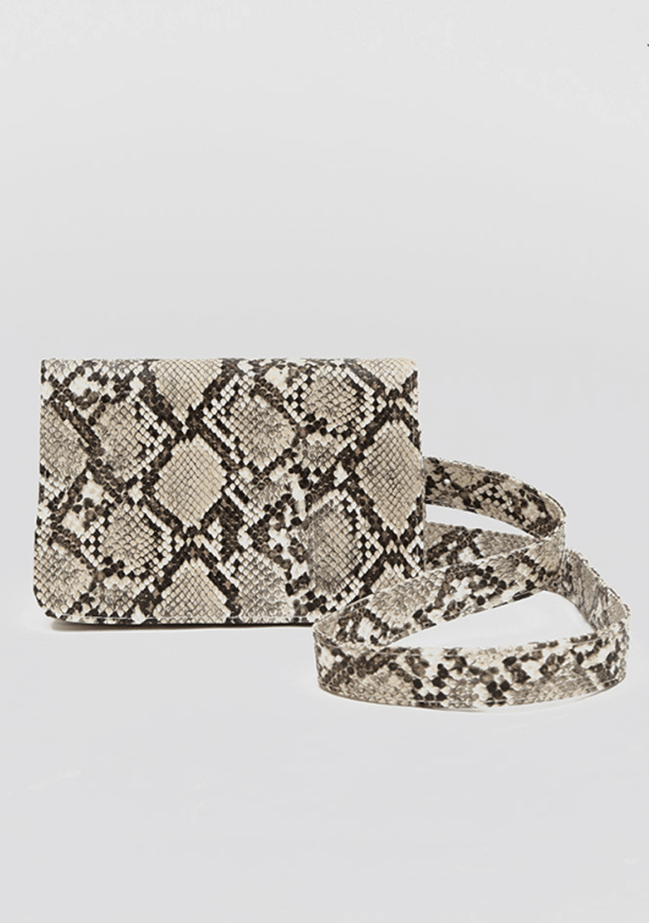 By My Side Python Hip Bag
