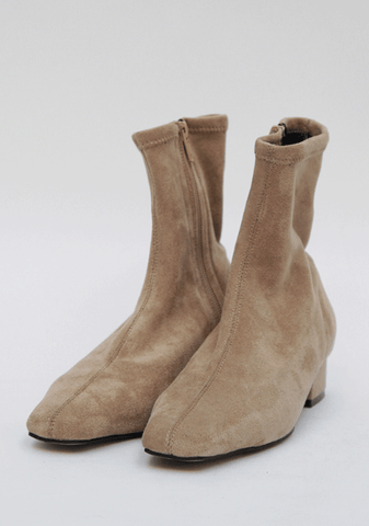 Charming Princess Suede Ankle Boots