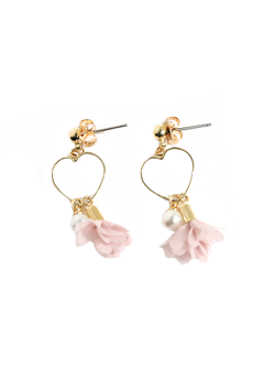 Flower On Point Earrings
