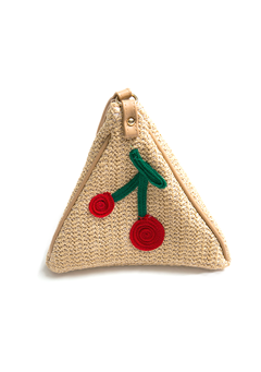Fruity Cherry Triangle Bag
