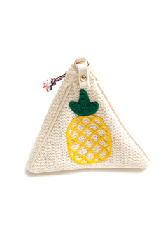Fruity Pineapple Triangle Bag