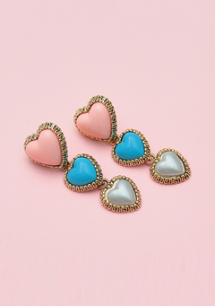 Hearts Aligning Earrings