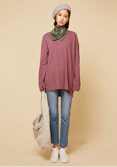 Yogurt Long Tee(8Color)