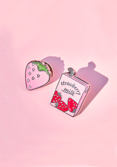 Strawberry Milk. Berry Berry Broach