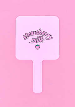 Strawberry Milk. Pink Mirror