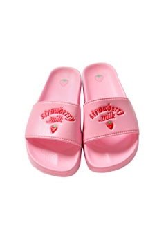 strawberry milk. Strawberry Jelly Slippers