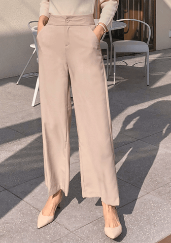 Long Legs Wide Slacks