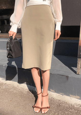 Basic For Classic Pencil Skirt