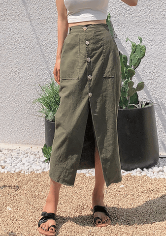 On A Mission Long Skirt