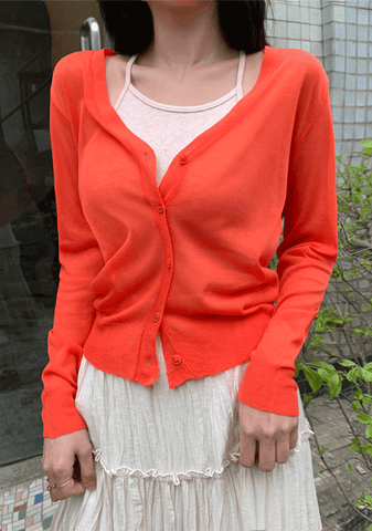 15 Colors Of Summer Cardigan