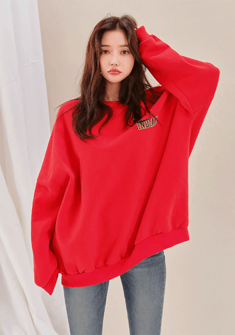 Indiana Loose Fit Napped Sweatshirt