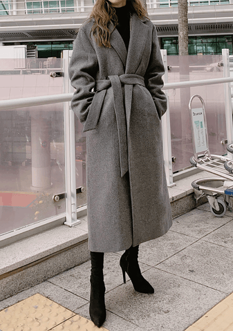 Modern Simple Mood Long Coat