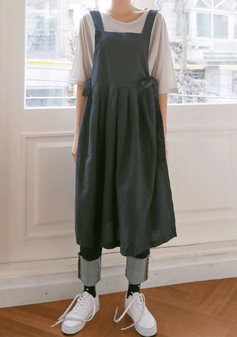 Sunday Gardening Side Tied Dress