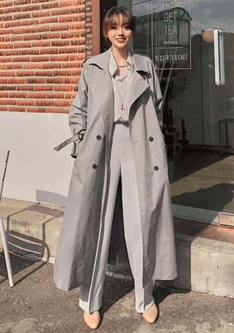Paris Oversized Trench