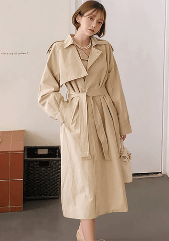 Simple Trendy Trench Coat