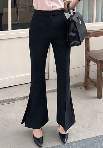Fit And Flare Slacks