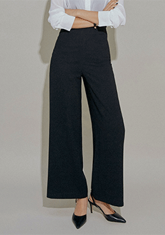 [CHUU MADE] Office Woman Wide Slacks