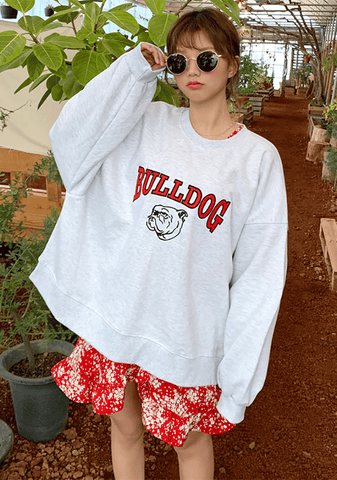 Cute Bulldog Sweatshirt