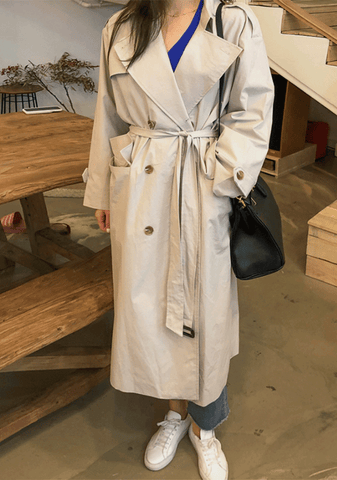 French Mood Trench Coat