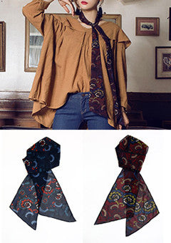 T Kita Scarf To Match Floral Patterned Scarf